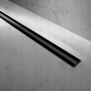 Set rigola pentru dus plus capac 60 cm Rea Neo Slim Pro Negru imagine
