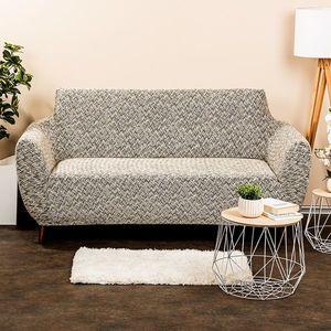 Husă multielastică 4Home Comfort Plus pentru canapea, bej, 140 - 180 cm, 140 - 180 cm imagine