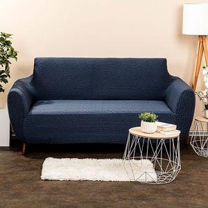 Husă multielastică 4Home Comfort Plus pentru canapea, albastră, 140 - 180 cm, 140 - 180 cm imagine