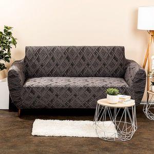 Husă multielastică 4Home Comfort Plus pentru canapea, gri, 140 - 180 cm, 140 - 180 cm imagine