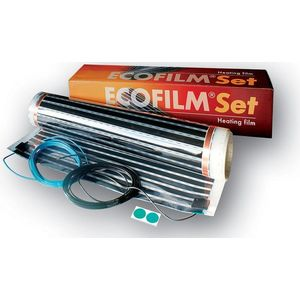 Kit Ecofilm folie incalzire pentru pardoseli din lemn si parchet ES13-550 2 5 mp imagine
