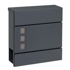 Cutie poștală din oțel, cu viziere BK.932.G.AM imagine