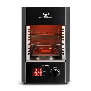 Klarstein Steakreaktor 2.0, 1600 W, grill electric pentru domiciliu, 850 °C, cu radiatii infrarosii imagine