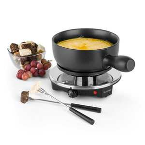 Klarstein SIRLOIN RACLETTE cu fondue, vas ceramic, 1200 w, negru imagine