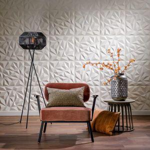 Panouri decorative 3D Puck, WallArt, 12 placi 50x50cm imagine