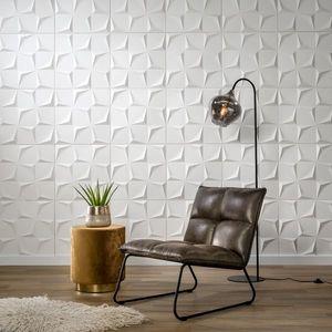 Panouri decorative 3D Beau, WallArt, 12 placi 50x50cm imagine