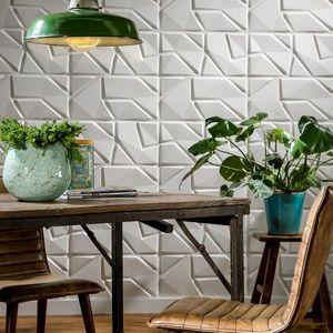 Panouri decorative 3D Liam, WallArt, 12 placi 50x50cm imagine