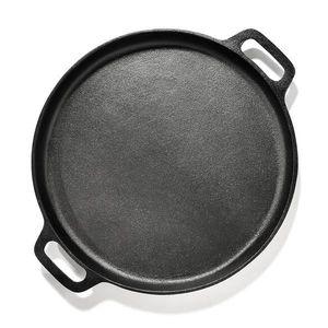 Klarstein Canadienne, tavă rotundă pentru grătar, netedă, 35 × 3 cm (Ø × H), fontă imagine