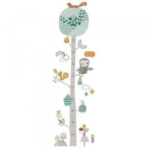 Metru Autocolant Inaltime Copii -130cm - Animale si Pasari imagine