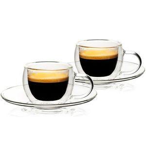 4Home Pahare termo espresso Style Hot&Cool 80 ml, 2 buc. imagine