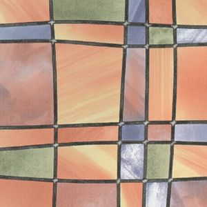 Autocolant Gekkofix Vitraliu Semitransparent Barcelona Multicolored 67.5cmx15m cod 11805 imagine