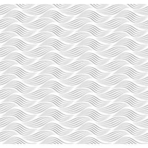 Tapet Ceramics Wave d-c-fix valuri alb 67.5cmx20m cod 270-0165 imagine