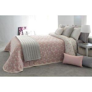 Cuvertura de pat DOBSON roz, dimensiune 190 cm x 270 cm imagine