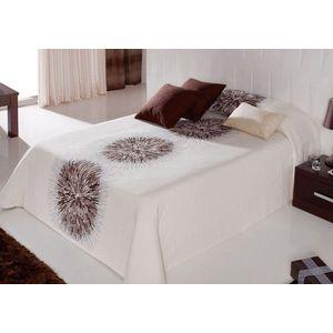 Cuvertura de pat AGNES maron, dimensiune 250 cm x 270 cm imagine
