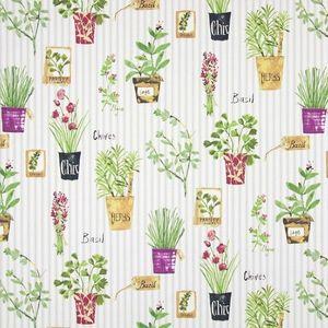 Material textil HERB POTS SAGE imagine