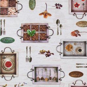 Material textil COFFEE imagine