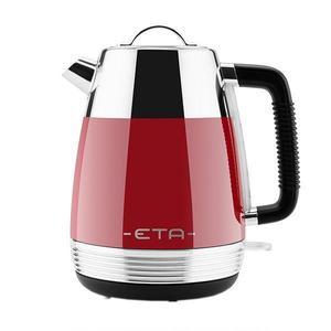 Cana electrica fierbator ETA Storio 918630, 2150 W, 1.7 L, otel inoxidabil, design retro, rosu imagine