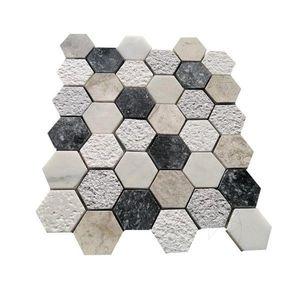 Mozaic Marmura Mix Hexagon imagine