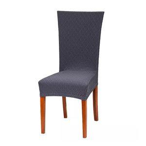 Husa pentru scaun in carouri - mentol - Mărimea perna 38x38 cm, spatar inaltim imagine