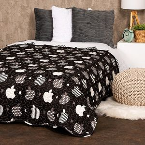 Cuvertură de pat 4Home Black fruit, 140 x 220 cm imagine