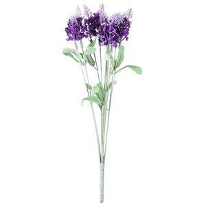 Floare artificială Lavandă, violet, 34 cm imagine