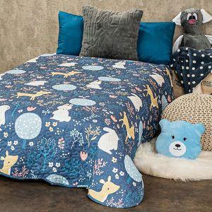 Cuvertură de pat pentru copii 4Home NordicWoodland , 140 x 200 cm imagine