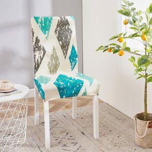 husă multielastică scaun 4Home Style, 45 - 50 cm, set 2 buc. imagine