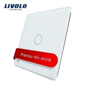 Intrerupator simplu cu touch Livolo din sticla imagine