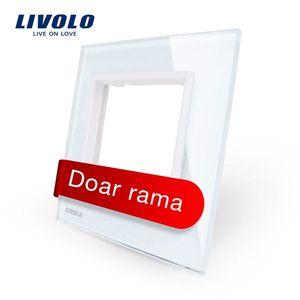 Rama priza simpla Livolo din sticla imagine