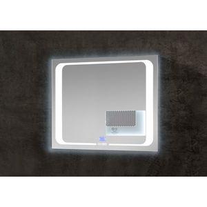 Oglinda Baie SP4 Medium cu Iluminare Led, IP21, 6500K, 535LM, Dreptunghiulara l80xH65 cm imagine