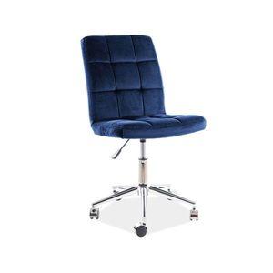 Scaun birou SL Q020 albastru imagine